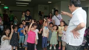 子供達とジャンケン大会