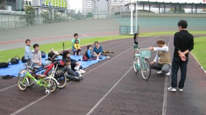 自転車整備のお話し