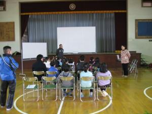 出前自転車教室<開会>